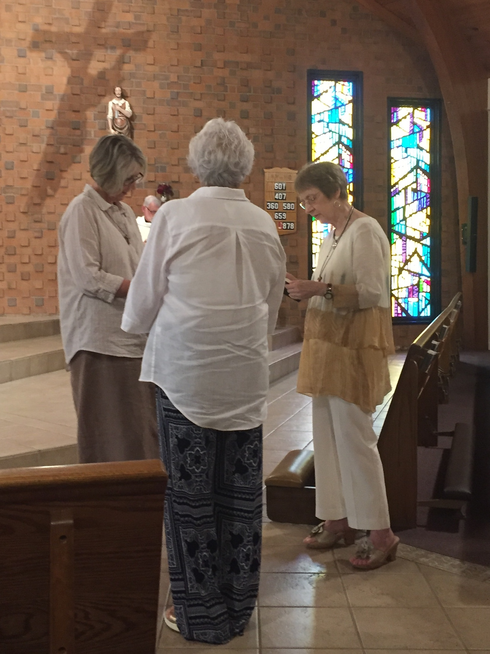 Carole's 25th OFS Anniversary & Paula's Profession to the OFS – August 11, 2018